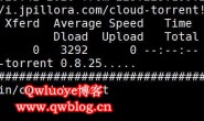 在Linux系统命令行界面下载BT种子文件cloud-torrent