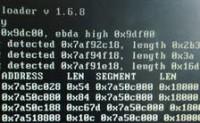 Win7使用ghost之后开机出现recalculating checksums rsdt len等等一大堆数字的解决办法