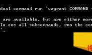 Windows系统下Vagrant和Virtualbox安装Centos7的一些记录